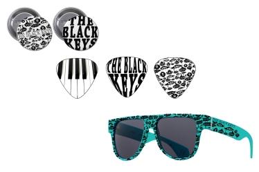 Mock Merchandise for The Black Keys